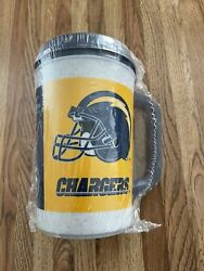 Aladdin 7 Eleven 7-11 Nfl San Diego Chargers Vtg 20oz Insulated Thermos Cup Mug