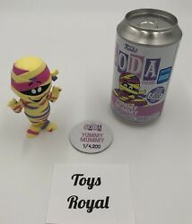 Funko Pop Soda Ad Icons Cereal Yummy Mummy Limited 4,200 Wondercon Exclusive