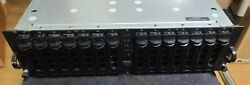 Dell Powervault 220s Disk Shelf 15-bay With 15 Drive Caddies And 2 Psu - Chia