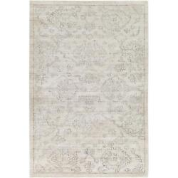 Transitional Area Rugs 100 Viscose Hand Knotted Medium Pile For Home Decor
