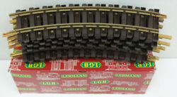 Lgb 1100 G Scale Curved Track Sections 12 Ex/box
