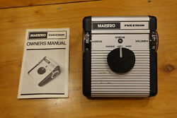 Maestro Fuzztain Vintage Fuzz Awesome Foot Control With Manual