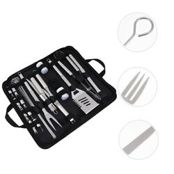 1set Of Bbq Tools Grill Utensils Kit For Outdoor Picnic Home