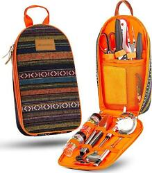 Camping Cooking Utensil Set 11 Piece Grill Accessories Portable Backpacking Kit $52.99