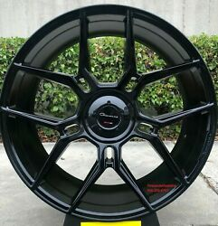24 Giovanna Haleb Gloss Black With Tires Range Rover Hse Charger Challenger