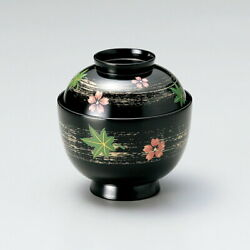 Spring And Autumn Thyrashi Small Soup Bowl Black Customer Sets Imperial