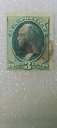 Us Stamps 19th Century Used 1875 A46a 3c Bl Grn