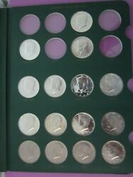 1964-2001 Pds Kennedy Half Dollars  99 Coins In Book