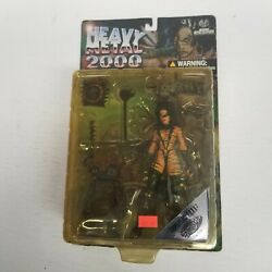 Vtg Heavy Metal 2000 Camoflage F.a.k.k. 2 Sexy Lady Action Figure New