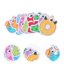 10pcs Durable Anti Skid Stickers Numbers Learning Stickers For Children