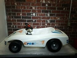 Old Crest Toy Pedal Car - Kingsbury 1980and039s