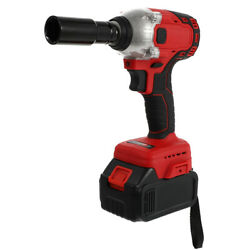 1 Set Useful Portable Electric Impact Wrench Big Torque Wrench