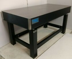 Crated 3' X 6' X 8 Tmc Optical Table, Micro-g Adjustable Height Rigid Bench
