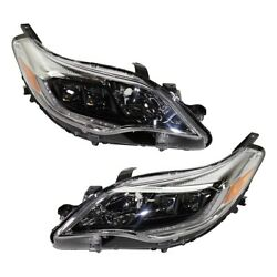 Set Of 2 Hid Headlights Lamps Left-and-right Hid/xenon Lh And Rh For Avalon Pair