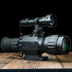 4x Night Vision Sight Airsoft Hunting Farm Ultra Light Day Rifle Scope