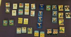 Vintage New Old Stock Camel 33 Cigarette Matchbooks With Tin Box