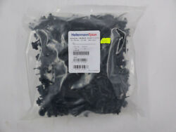 Qty 500 Hellermann Tyton Cable Ties, Fir Tree Mounts 6.2 Long Mounting Hole Dia