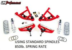 82-03 Chevrolet S10 Gmc S15 Sonoma Umi Competition Front End Kit Red 3059-2-r