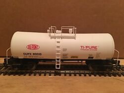 Ho Walthers Dupont Utlx 16,000 Gallon Funnel Flow Tank Car Dupx 80010