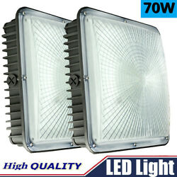 Led Canopy Light 70w For Garage Street Area Lamp And Outdoor Lighting [9.6andrdquox9.6andrdquo]