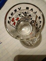 Las Vegas Shot Glass Stamped Ever' Joy Collectible