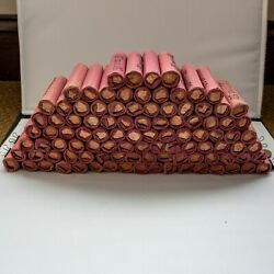 100 - 1976 P Mint Wrapped Shotgun Roll Pennys Uncirculated Unsearched 5000 Coins