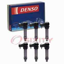 6 Pc Denso Direct Ignition Coils For 2014-2016 Chevrolet Impala Limited 3.6l Ri