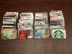 Starbucks Gift Card Huge Lot 200+ All Different Designs New Cards No Duplicates