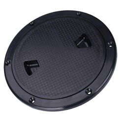 Marine Boat Rv Screw Out Deck Plate Inspection Hatches 8inch