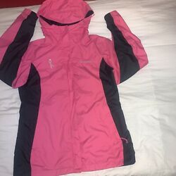 Columbia Womenand039s Full Zip Fleece Breast Cancer Jacket Small Pink Hoodie
