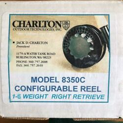 Charlton 8350c Fly Reel With Warranty And Box Fishing Reel Color Black