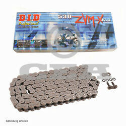 Did X Ring Motorbike Chain 530zvm-x With 112 Rolls Open With Rivet Link