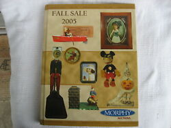 2005 Fall Morphy Auctions Antiques Catalog-realized Price List-excellent Conditi