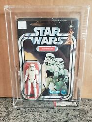 Stormtrooper Afa 70 Star Wars 12 Back A 1978 With Subgrades Of 80 60 70 Anh Moc