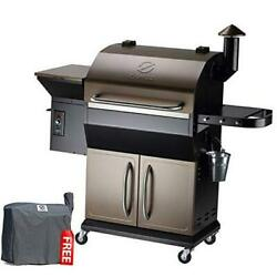 Zpg-1000d 2020 New Model Wood Pellet Grill And Smoker 8 In 1 1000 Sq In Copper