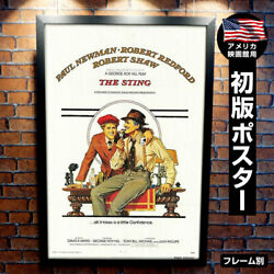 Movie Posters Sting By Frame Fashionable Design Goods Paul Newman Robert Redford