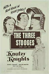 Gold Coin Silver Antique Coins Knutzy Knights Original Movie Poster. 1954. Linen