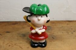 80s Determined Lucy Ceramic Bank/vintage Peanut Bank Snoopy/baseball