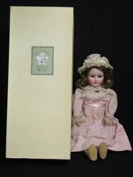 A05-638 Tom Hoshi Building Antique Bisque Doll 67cm Germany 914 11 Pb Stamped