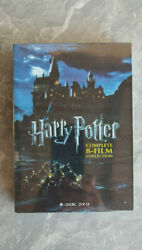 Harry Potter Complete 8-film Collection Dvd New Factory Sealed Us Seller
