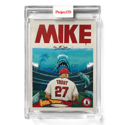 Topps Project 70 Card 505 - 2011 Mike Trout By Ces