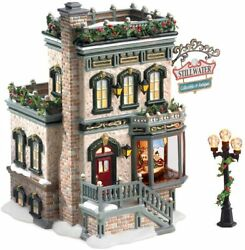 Department 56 Stillwater Collectibles And Antiques 30 Years Snow Village 55383