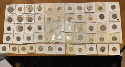 Central And South American Coin Lot - 1949 Forward- 56 Coins -