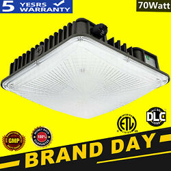 70w Led Canopy Light Commerical Use Outdoor Gas Station Square Ip65 Led Lights