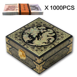 Chinese Black Dragon Note Collectible 10 Billion Dragon Note 1000pcs In Box