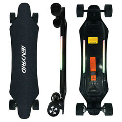 900w Motors Electric Skateboard With Remote Control 25 Mph And 21 Mile Longboard