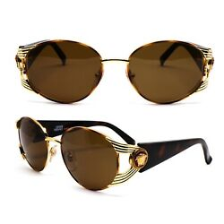 Glasses Gianni Versace S64 1048.2oz Vintage Sunglasses New Old Stock 1990's