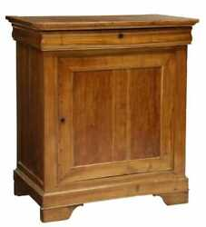Antique French Walnut Louis Philippe Period Confiturier Jam Chest Cabinet Single