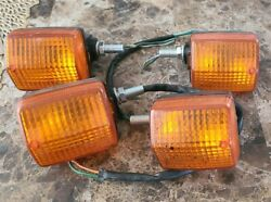 Front And Back Xr650l Turn Signals Short Stem Nice