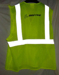 Boeing Safety Vest Yellow Neon Green Reflective Airplanes